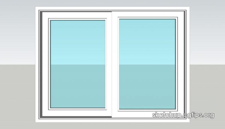 105 Windows Sketchup Model Free Download Sketchup 3d