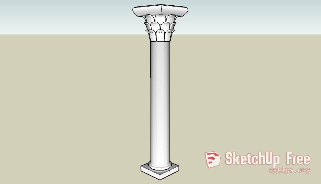Cot1 - Sketchup - 3D Model Free Download