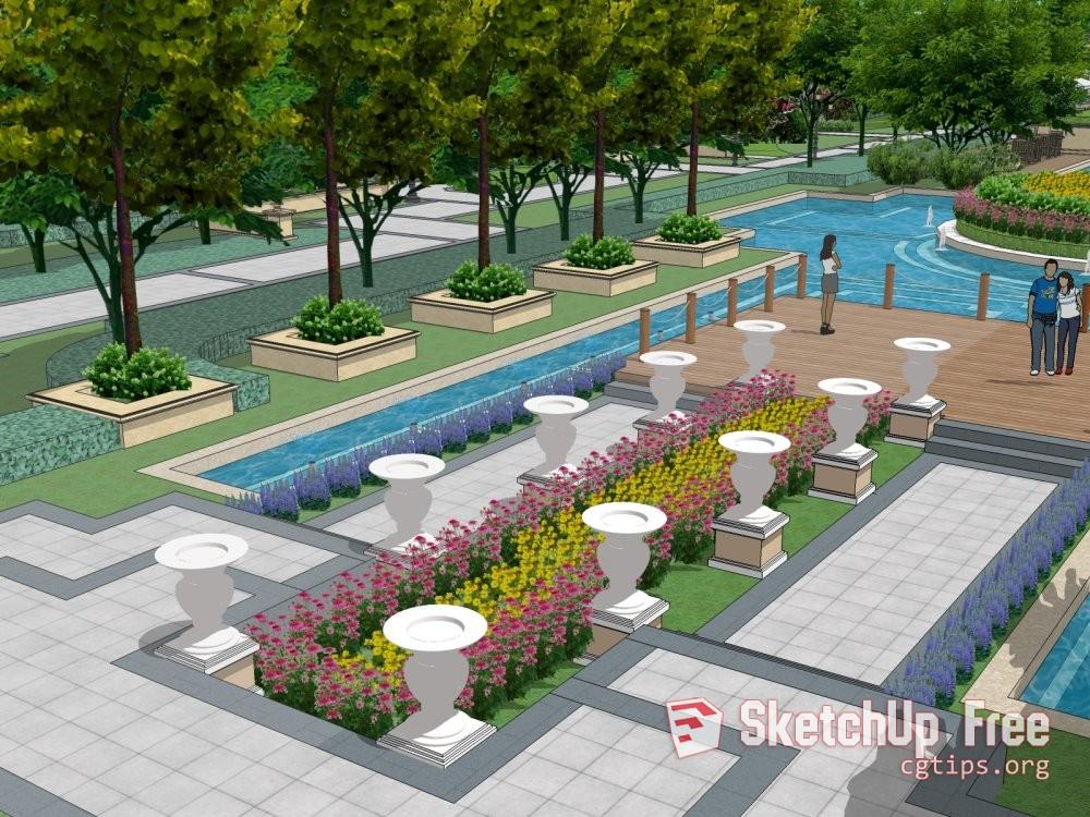 Sketchup Free Landscape Design | Chelss Chapman