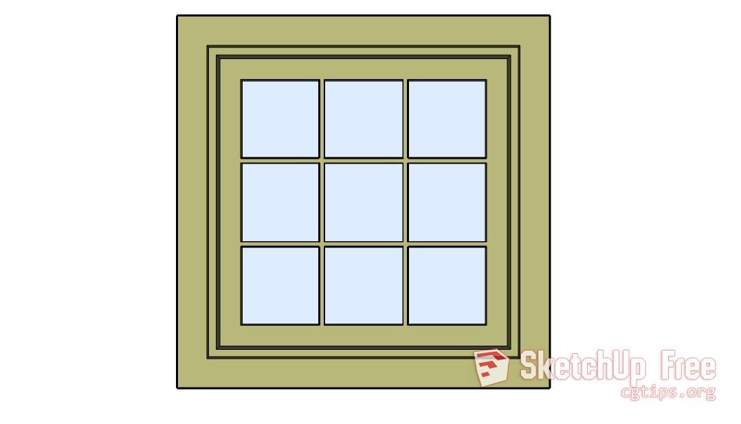 971 Windows Sketchup Model Free Download