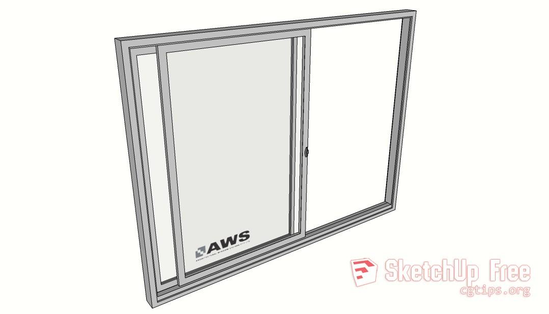 Window2 Sketchup 3d Model Free Download