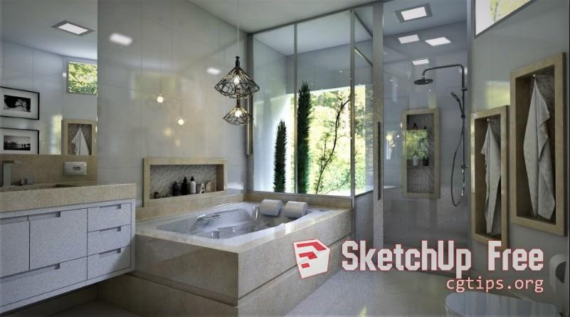 1397 Interior Bathroom Sketchup Model By Wellington Ferreira Free Download 1 Sketchup 3d Model Free Download