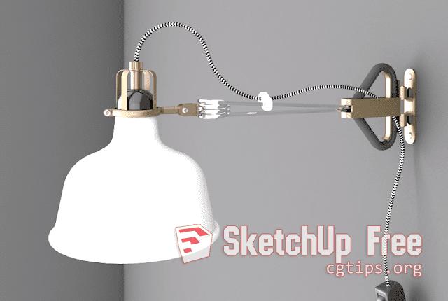 Chandelier 3d Model Sketchup