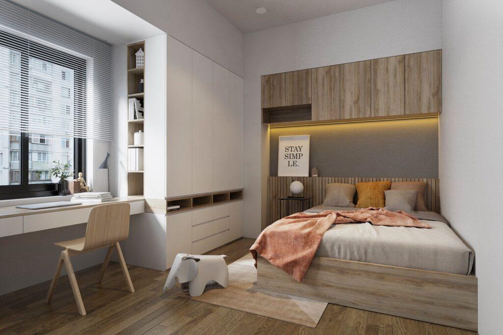3387 Interior Bedroom Scene Sketchup Model by Kts Nghiathan
