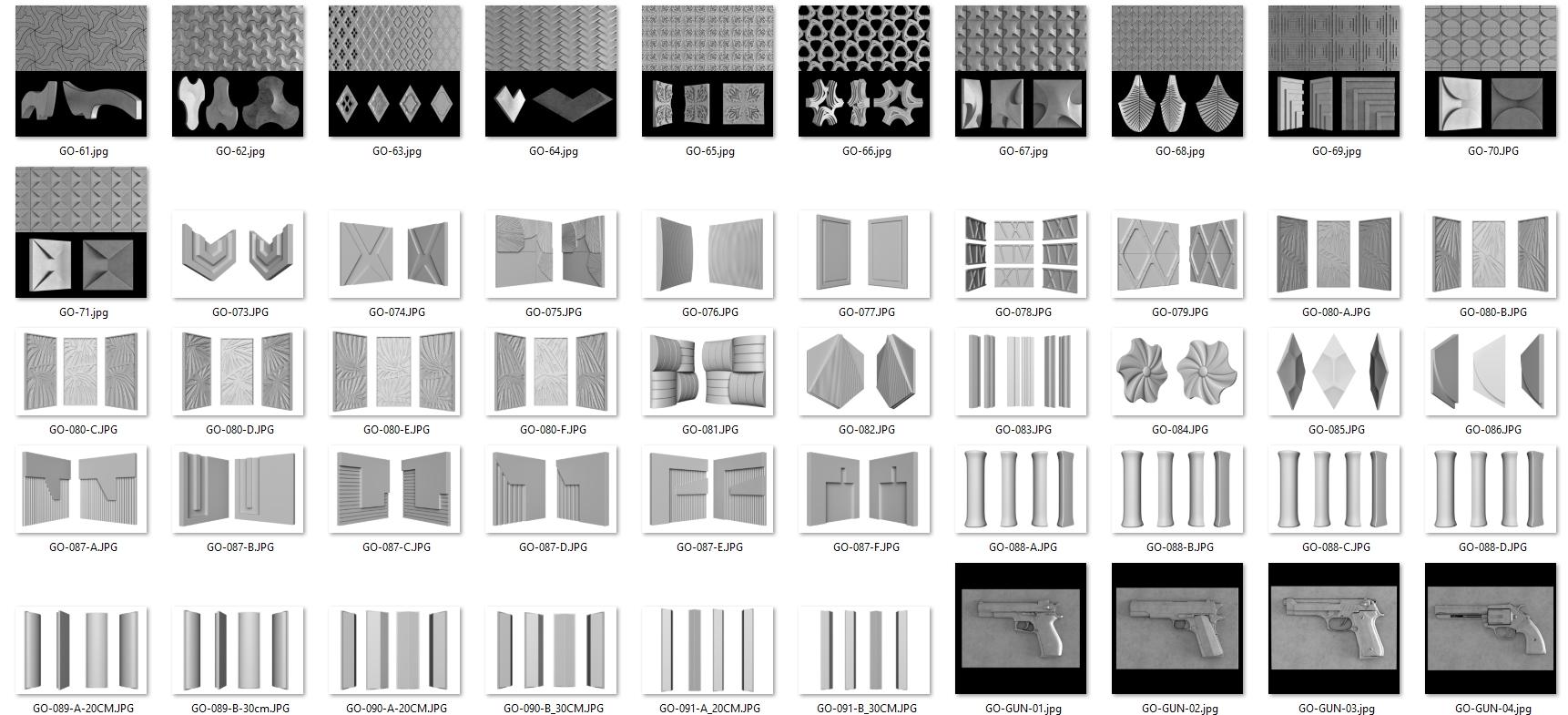 4175 Gạch 3D bê tông UHPC của DIDA