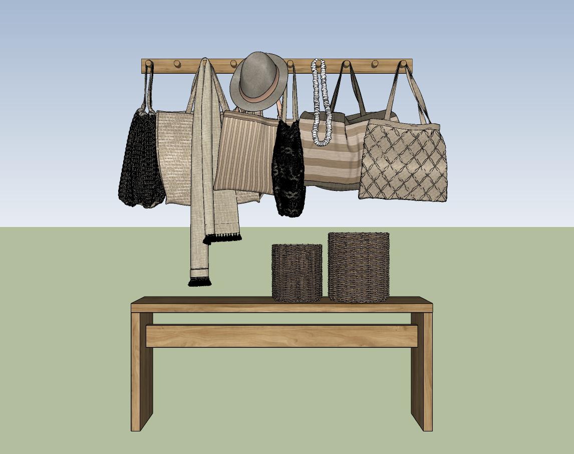 6165 Handbag Sketchup Models Free Download