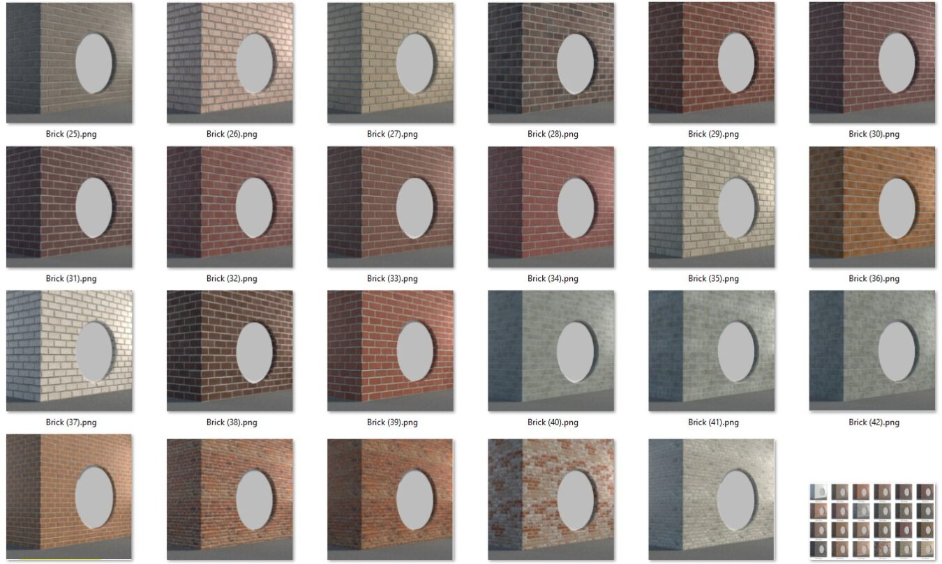 6197 Download Free Enscape Mosaic Material Models