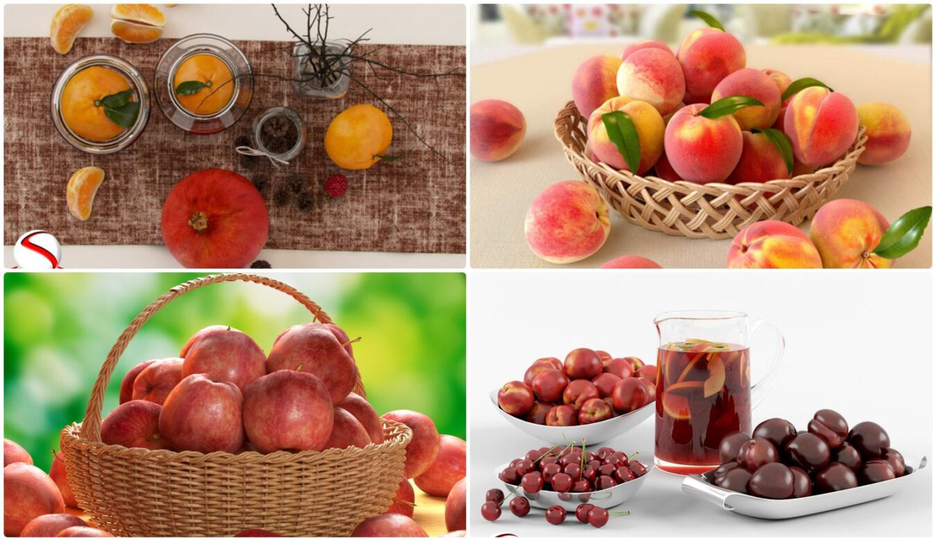 6288. Free Sketchup Fruit Models Download